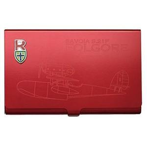 スタジオジブリ 紅の豚 メタルカードケース ロッソ(サボイア) エンスカイ|hobby-zone-pz