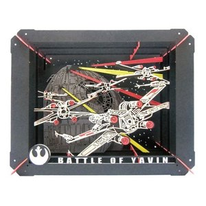 PAPER THEATER STAR WARS PT-056 BATTLE OF YAVIN エンスカイ|hobby-zone-pz