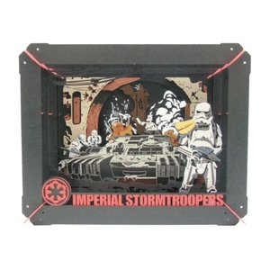 PAPER THEATER スター・ウォーズ ローグ・ワン PT-061 IMPERIAL STORMTROOPERS エンスカイ【P】|hobby-zone-pz