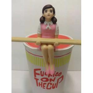 コップのフチ子 カップラーメンのフチ子 ピンク(再販) エンスカイ|hobby-zone-pz