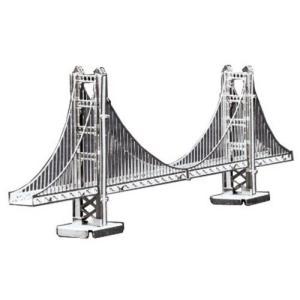 メタリックナノパズル ゴールデンゲートブリッジ(TMN-01) テンヨー ピース ジグソーパズル|hobby-zone