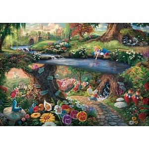 トーマス・キンケード Alice in Wonderland(D-1000-490)1000ピース テンヨー|hobby-zone