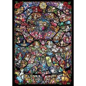 ディズニー&ディズニー/ピクサー  ヒロインコレクション ステンドグラス (D-2000-622)2000ピース テンヨー|hobby-zone