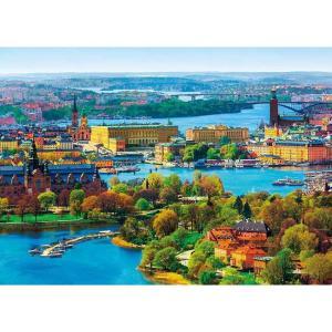 世界旅行 北欧の輝き ストックホルム旧市街(500-262)500ピース アップルワン【02月予約】 hobby-zone