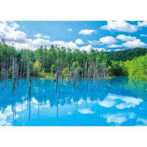 日本旅行 美瑛白金の青い池(500-263)500ピース アップルワン【02月予約】 hobby-zone