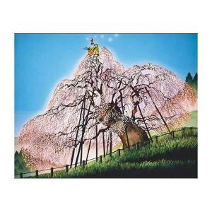 藤城清治 三春の滝桜 -福島-(300-338)300ピース アップルワン【02月予約】 hobby-zone