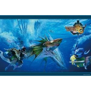 モンスターハンター3G 魚竜種ガノトトス(1000-191)1000ピース エンスカイ|hobby-zone
