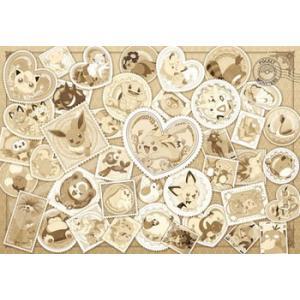 ポケットモンスター Postage Stamp Art〜Sepia〜(1000T-82)1000ピース エンスカイ|hobby-zone