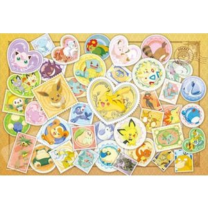 ポケットモンスター Postage Stamp Art(108-L700)108ラージピース エンスカイ|hobby-zone