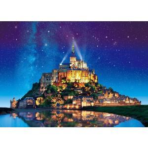 世界の絶景 星空のモン・サン・ミシェル-フランス(05-090)500ピース エポック hobby-zone