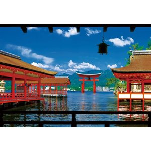 世界遺産 厳島神社(33-124)300ピース ビバリー|hobby-zone