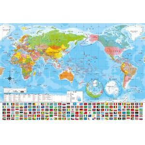 世界地図(40-013)40ラージピース ビバリー hobby-zone