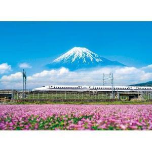 れんげの花と富士山(静岡)(05-1016)500ピース やのまん【02月予約】 hobby-zone