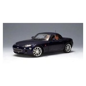1/18 マツダ MX-5 ROADSTER RETRACTALE ROOF 2006 ストーミーブルー AUTOart|hobby-zone