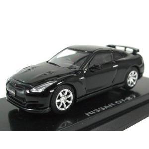1/64 ニッサン GT-R ブラック K06631BK 京商|hobby-zone
