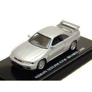 1/64 Beads Collection ニッサン スカイライン GT-R (BCNR33) 1955 シルバー K06071S 京商|hobby-zone