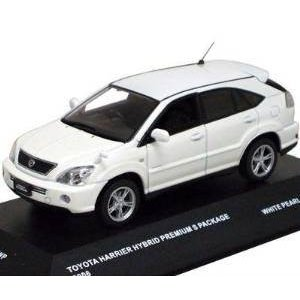 1/43 J-Collection トヨタ ハリアー HB Sパッケージ2006 (ホワイト) 京商|hobby-zone