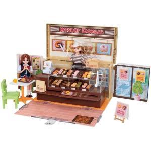 ミスタードーナツショップに、リアルなドーナツ小物が36個も入って登場!ドーナッツをショーケースになら...