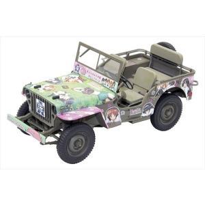 ファインモールド ガールズ&パンツァー 1/20 アメリカ陸軍1/4トン 4x4トラック プラモデル 模型|hobby-zone