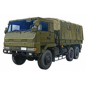 アオシマ 1/72 ミリタリーモデルキット No.001 陸上自衛隊 3 1/2tトラック「3トン半 新型」 プラモデル 模型|hobby-zone