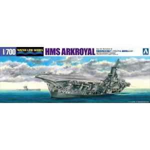 1/700 ウォーターライン 英国海軍航空母艦 アークロイヤル 最終時&U81 アオシマ|hobby-zone