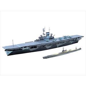 1/700 ウォーターライン 米国海軍航空母艦WASP(ワスプ)&日本海軍潜水艦 伊19 アオシマ|hobby-zone