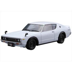 1/24 ザ・モデルカーシリーズ No.15 ニッサン KPGC110 スカイラインHT2000GT-R '73 アオシマ|hobby-zone