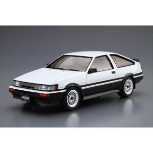1/24 ザ・モデルカーシリーズ No.017 トヨタ AE86 カローラレビンGT-APEX 1985 アオシマ|hobby-zone