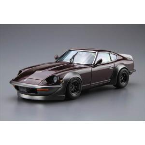 1/24 ザ・モデルカーシリーズ No.030 ニッサン S30フェアレディZ エアロカスタム 1975年 アオシマ|hobby-zone