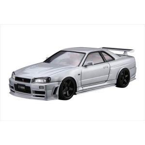 ザ・モデルカーシリーズ No.034 ニッサン ニスモBNR34 スカイラインGT-R Z-tune 2004 アオシマ|hobby-zone