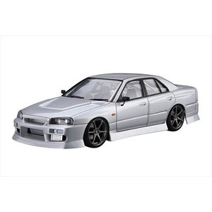 ザ・チューンドカーシリーズ No.020 ニッサン URAS ER34 スカイライン25GT-t 2001 アオシマ|hobby-zone