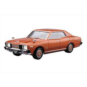 ザ・モデルカーシリーズ No.053 ニッサン P332 セドリック/グロリア4HT 280Eブロアム 1978 アオシマ|hobby-zone