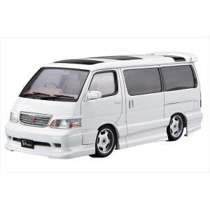 ザ・チューンドカーシリーズ No.025 トヨタ アズマックス KZH100ハイエース 1999 アオシマ|hobby-zone