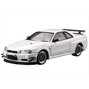 ザ・チューンドカーシリーズ No.034 ニッサン マインズ BNR34スカイラインGT-R 2002 アオシマ|hobby-zone