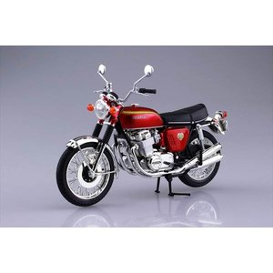 1/12 完成品バイク Honda CB750FOUR(K0) キャンディレッド アオシマ|hobby-zone