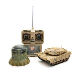 【数量限定】対戦型IR戦車 シミュレート M1A2エイブラムス 京商エッグ|hobby-zone