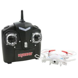 クアトロックス ウィズ QuattroX Wiz(ホワイト) 空撮可能カメラ ヘッドレス機能搭載 京商エッグ|hobby-zone