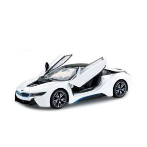 RASTAR 1/14 BMW Limited Edition i8 ホワイト(自動開閉ドア) KYOSHO EGG hobby-zone