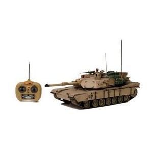 童友社 1/16 大型RC戦車シリーズ アメリカ主力戦車 M1A2エイブラムス イラク駐留米軍仕様 大型ラジコン戦車 ラジコン(再販)|hobby-zone