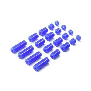 ミニ四駆特別企画 軽量プラスペーサーセット (12/6.7/6/3/1.5mm)(ブルー) 95368 タミヤ【12月予約】|hobby-zone