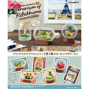 Terrarium of Rilakkuma ヨーロッパの旅気分 1BOX(6個入り) リーメント【11月予約】|hobby-zone