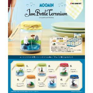 ムーミン Jam Bottle Terrarium 1BOX(6個入り) リーメント【07月予約】|hobby-zone