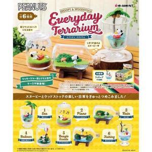 ピーナッツ SNOOPY & WOODSTOCK Everyday Terrarium  1BOX(6個入り) リーメント【02月予約】 hobby-zone