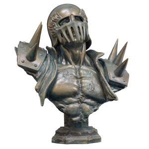 メガソフビアドバンス 北斗の拳 MSA-013 ジャギ胸像 ブロンズテイスト胸像 海洋堂|hobby-zone