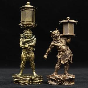 「運慶の継承」-康弁作 天燈鬼・龍燈鬼立像- KD019 海洋堂|hobby-zone