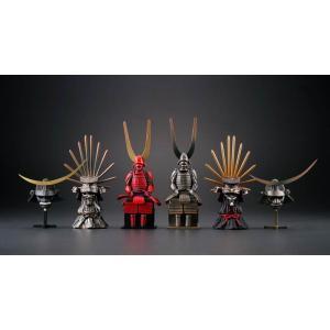 miniQ ミニチュアキューブ 009 戦国甲冑コレクション 1BOX(8個入り) 海洋堂【02月予約】 hobby-zone
