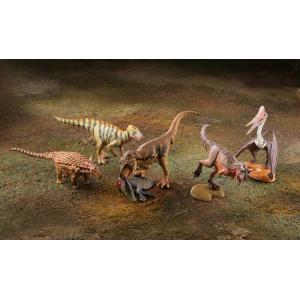 miniQ ミニチュアキューブ 011 恐竜造形最前線 1BOX(8個入り) 海洋堂【02月予約】 hobby-zone