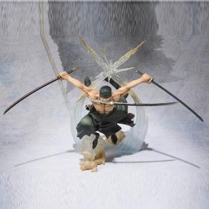 フィギュアーツZERO ワンピース ロロノア・ゾロ -Battle Ver. 煉獄鬼斬り- バンダイ|hobby-zone