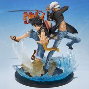 フィギュアーツZERO ワンピース モンキー・D・ルフィ&トラファルガー・ロー -5th Anniversary Edition- バンダイ|hobby-zone