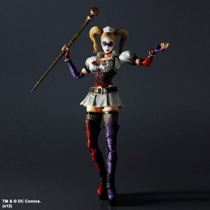 プレイアーツ改 BATMAN ARKHAM ASYLUM No.4 Harley Quinn(ハーレイ・クイン) スクウェア・エニックス フィギュア|hobby-zone